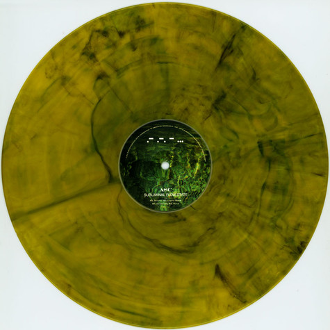 ASC - Subliminal Flow State Yellow Marbled Vinyl Edition