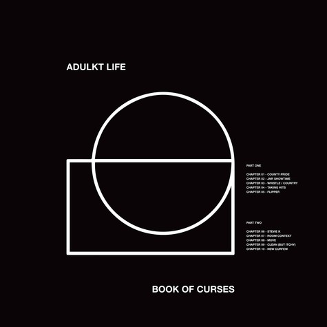 Adulkt Life - Book Of Curses White Vinyl Edition