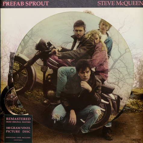 Prefab Sprout - Steve McQueen Picture Disc Edition