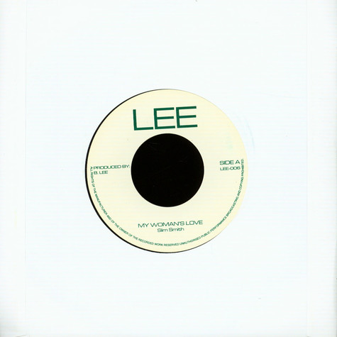 Slim Smith / Uniques - My Woman's Love / Give Me Your Love