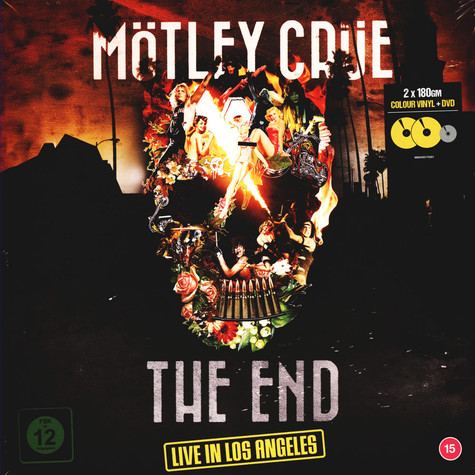 Mötley Crüe - The End: Live In Los Angeles Colored Vinyl Edition