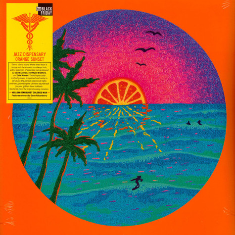 V.A. - Jazz Dispensary: Orange Sunset Colored Black Friday Record Store Day 2020 Edition
