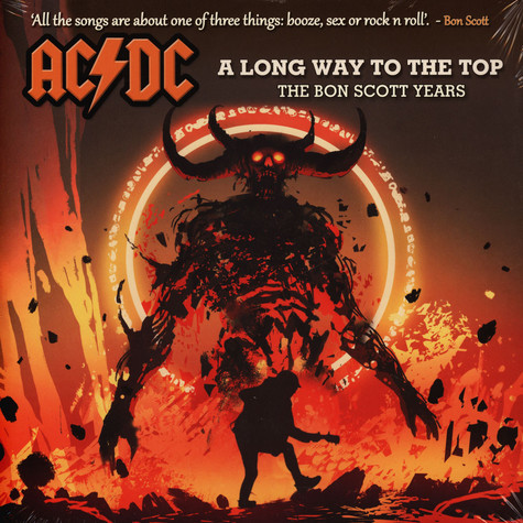 AC/DC - A Long Way To The Top Splatter Vinyl Edition