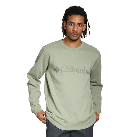 Columbia Sportswear - M Columbia Logo Fleece Crew Sweater