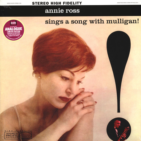 Annie Ross Sings A Song With Mulligan! - Annie Ross Sings A Song With Mulligan!