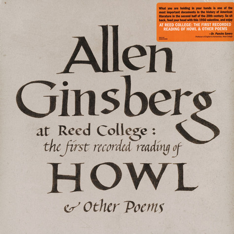 Allen Ginsberg - At Reed College: The First Recorded Reading Of How