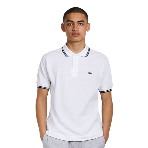 Lacoste - Short Sleeved Ribbed Collar Shirt