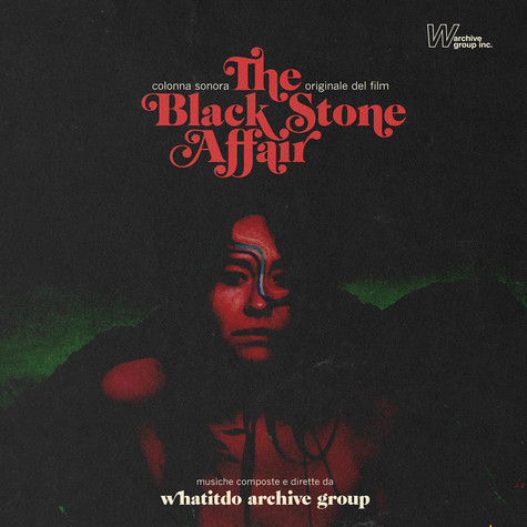 Whatatido Archive Group - OST The Black Stone Affair