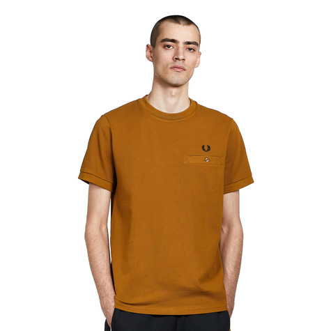 Fred Perry - Pocket Detail Pique T-Shirt