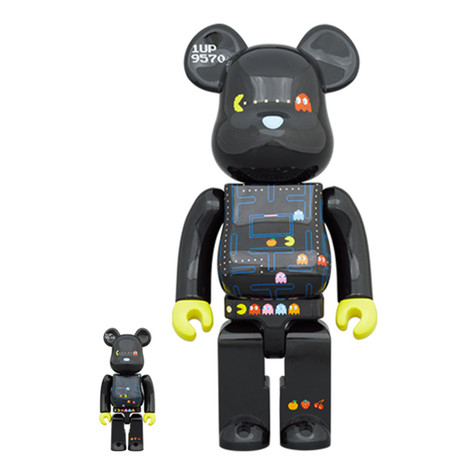 Medicom Toy - 100% + 400% Pacman Be@rbrick Toy