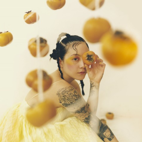 Japanese Breakfast - Jubilee Signed Clear With Turquoise Swirl Vinyl Edition