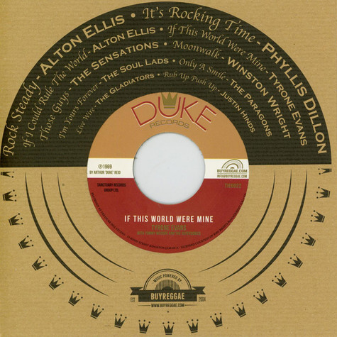 Alton Ellis / Tyrone Evans - If I Could Rule The World, If This World Were Mine