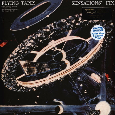 Sensations' Fix - Flying Tapes Clear Blue Vinyl Edition