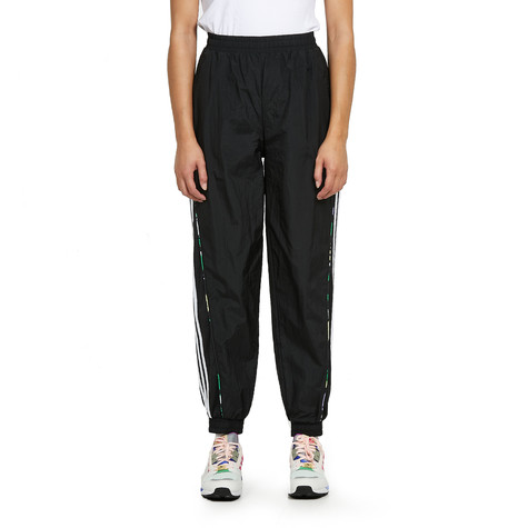 adidas - Floral Piping Woven High Waist Track Pants