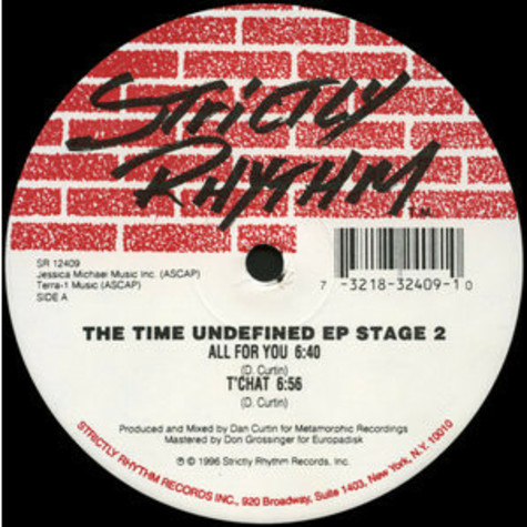 Time Undefined - The Time Undefined EP Stage 2