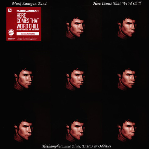 Mark Lanegan - Here Comes The Weird Chill Magenta Coloured Record Store Day 2021 Edition