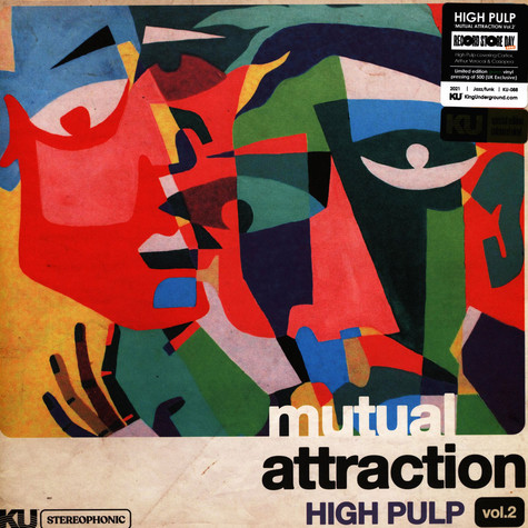High Pulp - Mutual Attraction Volume 2 Green Record Store Day 2021 Edition