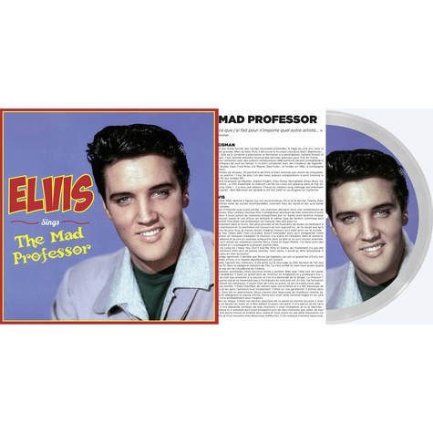 Elvis Presley - Sings The Mad Professor Picture Disc Record Store Day 2021 Edition