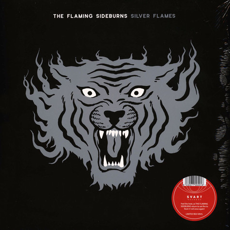 Flaming Sideburns, The - Silver Flames Red Vinyl Edition