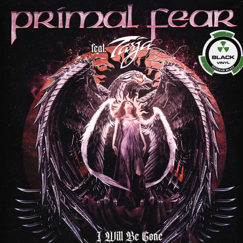 Primal Fear - I Will Be Gone Black Vinyl Edition