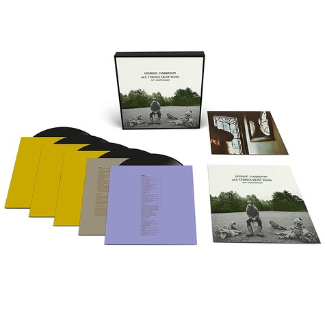 George Harrison - All Things Must Pass Limited 5lp Deluxe Box Edition