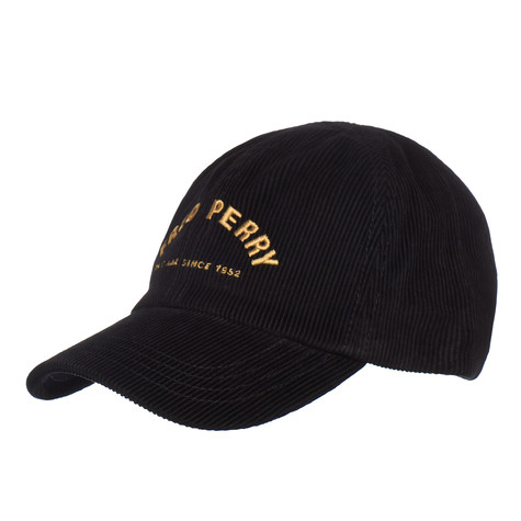 Fred Perry - Arch Branded Corduroy Cap