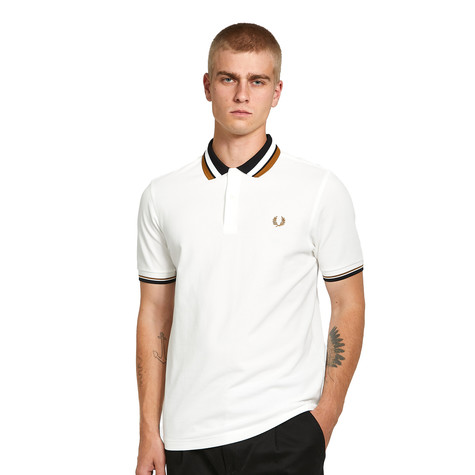 Fred Perry - Contrast Collar Pique Shirt