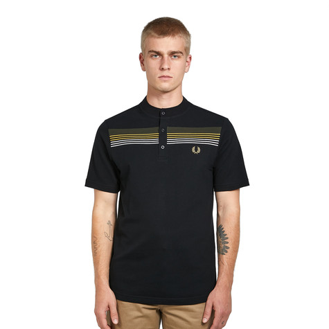 Fred Perry - Engineered Stripe Henley Shirt