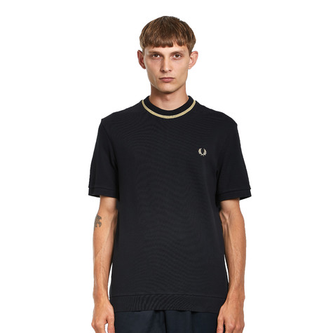 Fred Perry - Crew Neck Pique T-Shirt