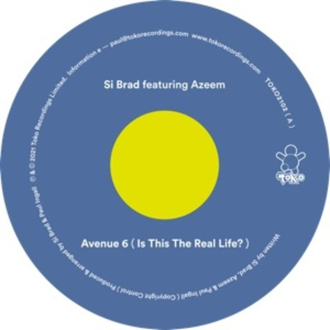 Si Brad - Avenue 6 (Is This The Real Life ?) Feat. Azeem
