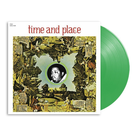 Lee Moses - Time And Place HHV Exclusive Green Vinyl Edition