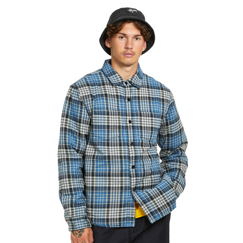 Stüssy - Quilted Lined Plaid Shirt