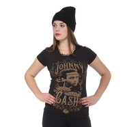 Johnny Cash - Walk The Line Women T-Shirt
