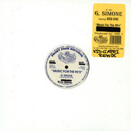 G.Simone - Music for the 90s feat. Krs One