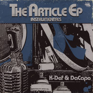 K-Def & DaCapo - The Article Instrumentals EP