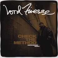 Lord Finesse - Check The Method Underboss Remix White Vinyl Edition