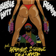 Major Lazer - Bubble Butt Remix Feat. Bruno Mars, 2 Chainz, Tyga & Mystic