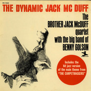 Brother Jack McDuff Quartet, The With Big Band Of Benny Golson, The - The Dynamic Jack Mc Duff
