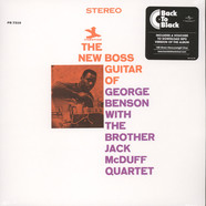 George Benson / Jack McDuff - The New Boss Guitar Back To Black Edition