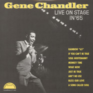 Gene Chandler - Live On Stage in '65