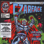Czarface (Inspectah Deck & 7L & Esoteric) - Every Hero Needs A Villain Clear Vinyl Edition