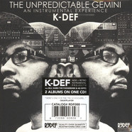 K-Def - The Unpredictable Gemini / The Way It Was