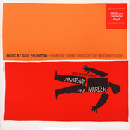 Duke Ellington - OST Anatomy Of A Murder 180g Oramge Vinyl Edition