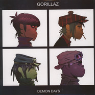 Gorillaz - Demon Days Clear Vinyl Edition
