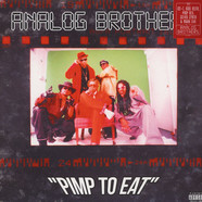 Analog Brothers - Pimp To Eat Red & Black Splatter Vinyl Edition