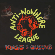 Anti-Nowhere League - Kings & Queens Red Vinyl Edition