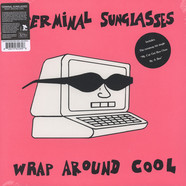 Terminal Sunglasses - Wrap Around Cool Pink Vinyl Edition