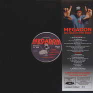 Megadon - No Man Is The Best Light Red White Vinyl Edition