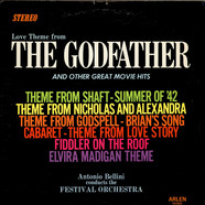 Antonio Bellini - Love Theme From The Godfather And Other Great Movie Hits