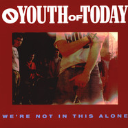 Youth Of Today - We're Not In This Alone Blue Vinyl Edition